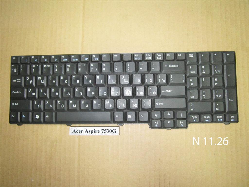 Клавиатура для ноутбука Acer Aspire 7530G 8920 8930 6530 7730