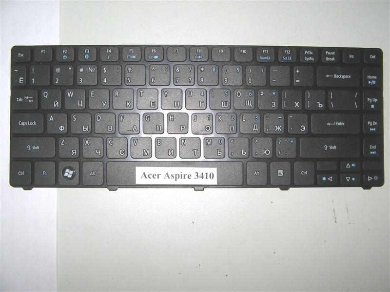 Клавиатура для ноутбука Acer Aspire 3410, 3410T, 3410G, 3810, 3810T, 4235, 4240, 4410, 4535, 4535G, 4540, 4736, 4736G, 4736Z, 4740, 4741, 4741G 4741Z, 4810, 4810T, Acer Emachines D640