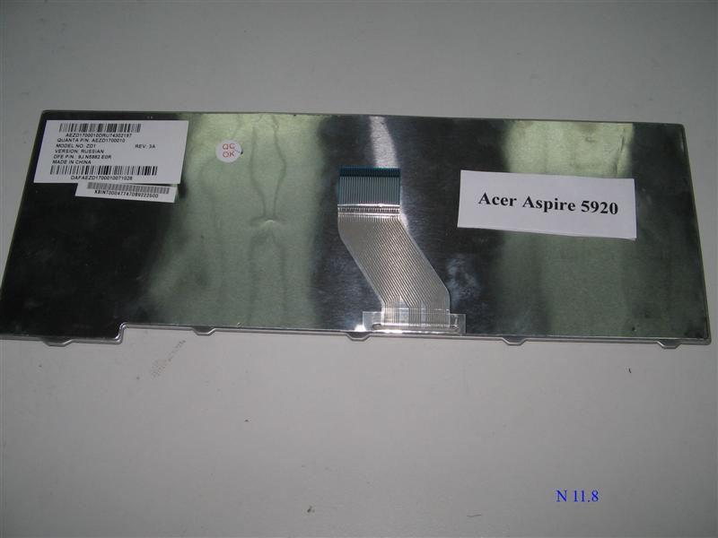 Клавиатура для ноутбука Acer Aspire 4720, 4920, 4520, 5220, 5520, 5720, 5920, 4315, 5315, eMachines E500, E510