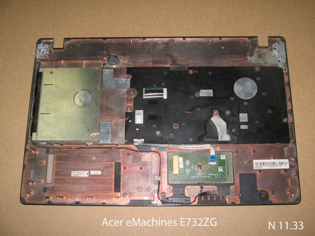 Клавиатура для ноутбука Acer eMachines E732ZG