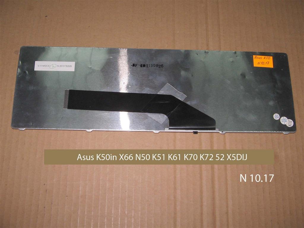 Клавиатура для  ноутбука Asus K50, X66, N50, K51, K60, K61, K62, K70, K72, X5DIJ, N51, P50      .УВЕЛИЧИТЬ