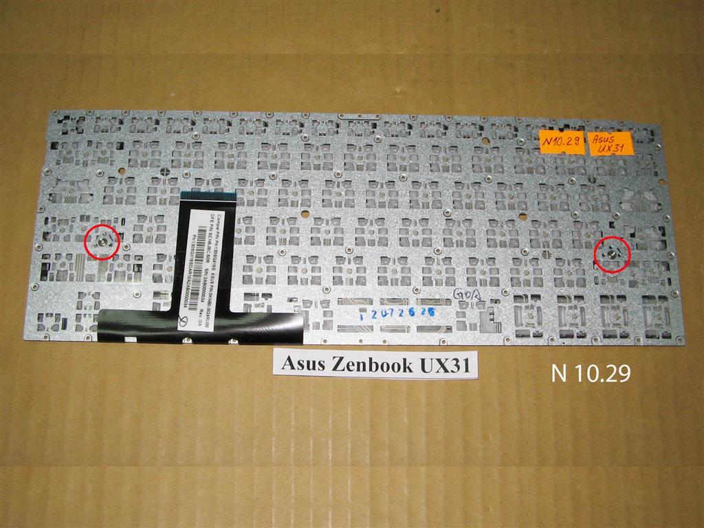 Клавиатура для  ноутбука Ultrabook Asus ZENBOOK UX31,  Ultrabook ZENBOOK UX32  .УВЕЛИЧИТЬ