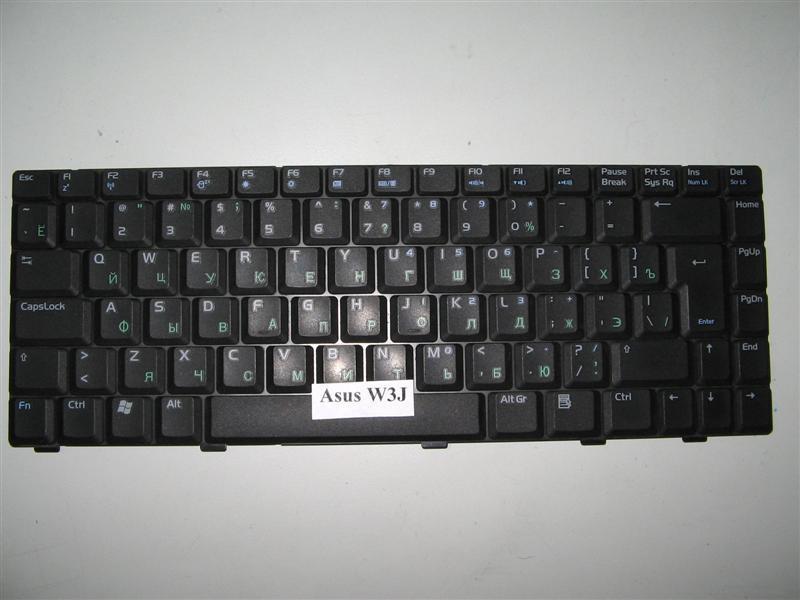 Клавиатура для ноутбука Asus W3J A8 Z99 F8