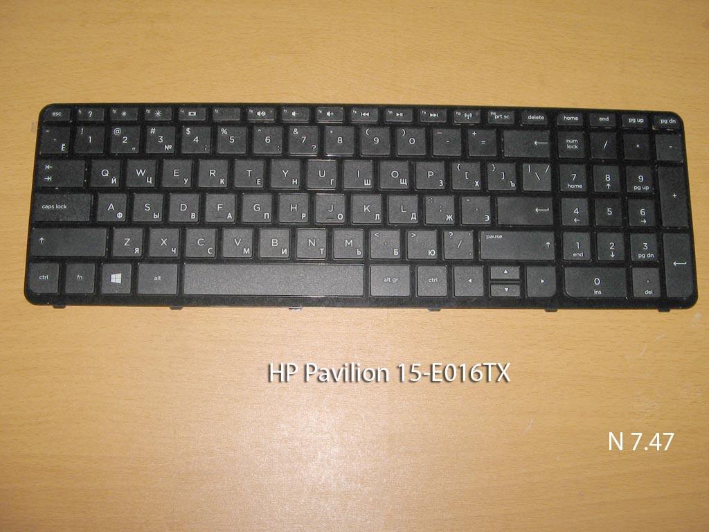 Клавиатура для ноутбука HP Pavilion 15-E016TX