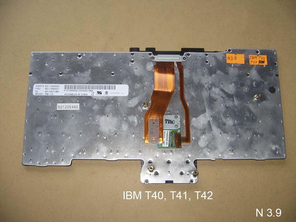 Клавиатура для ноутбука IBM T40, IBM T41, IBM T43