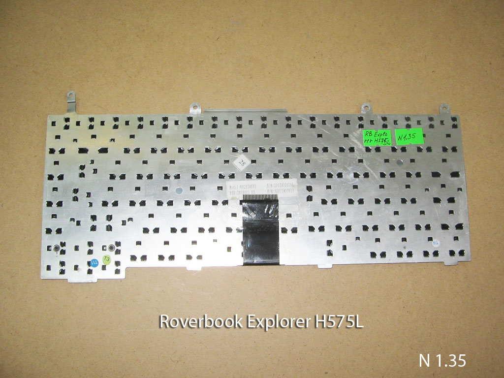 Клавиатура для ноутбука Roverbook Explorer H575L. УВЕЛИЧИТЬ