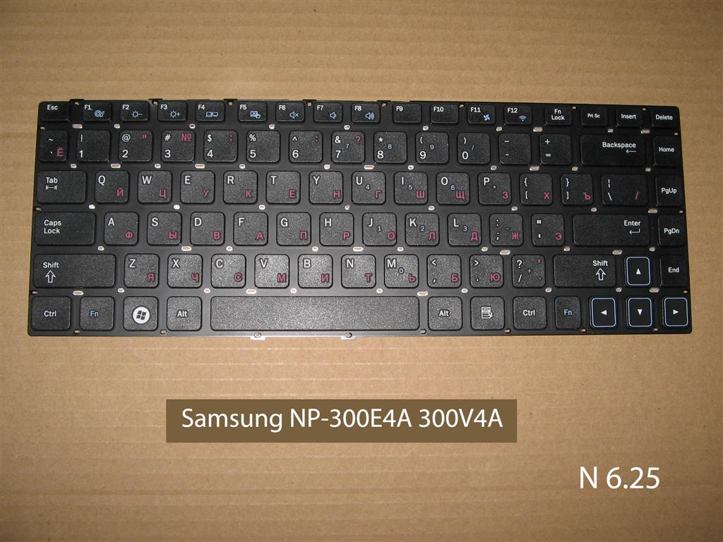 Клавиатура для ноутбука Samsung NP-300E4A 300V4A 305E4A 300E5A