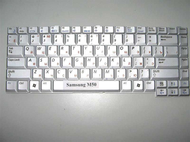 Клавиатура для ноутбука Samsung M50