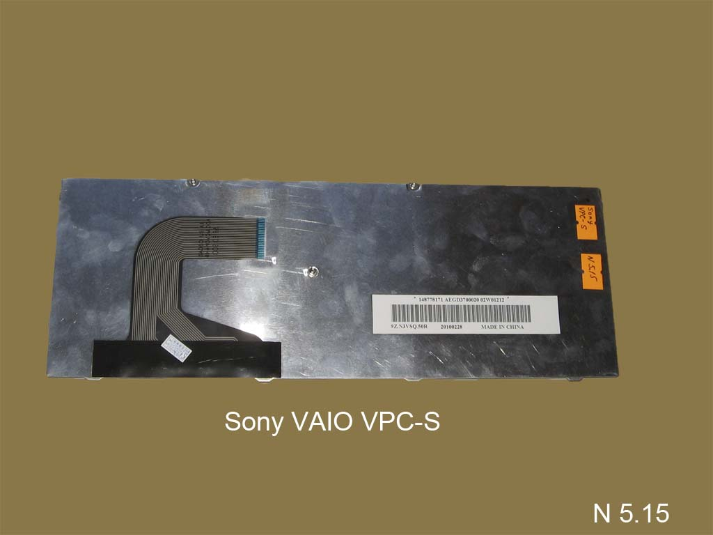 Клавиатура для ноутбука Sony VAIO VPC-S
