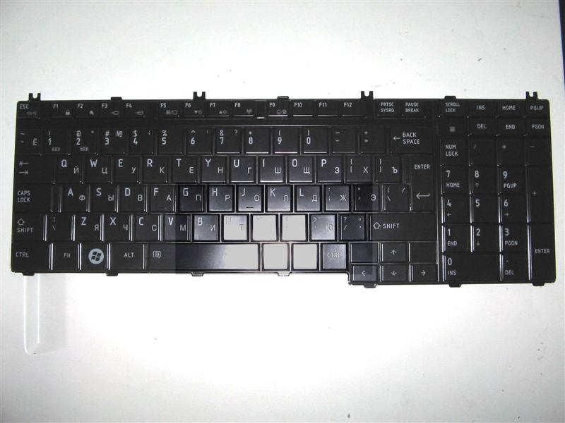 Клавиатура для ноутбука Toshiba Satellite A500, L350, L500, L655, P300