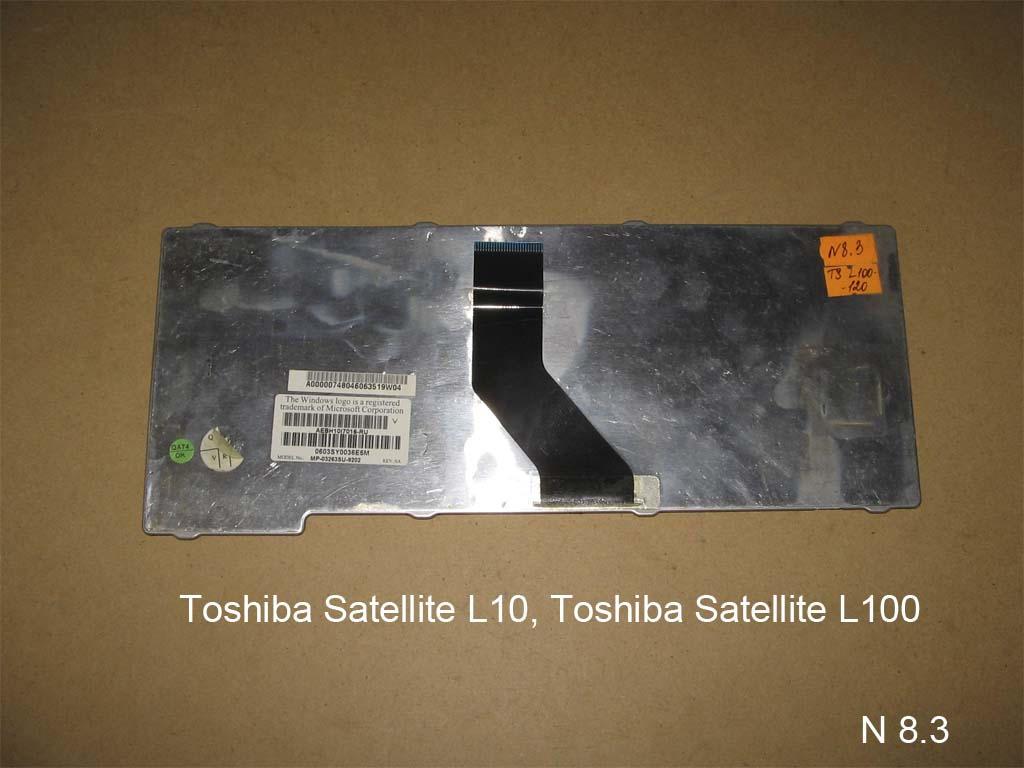 Клавиатура для ноутбука Toshiba Satellite L10, L100