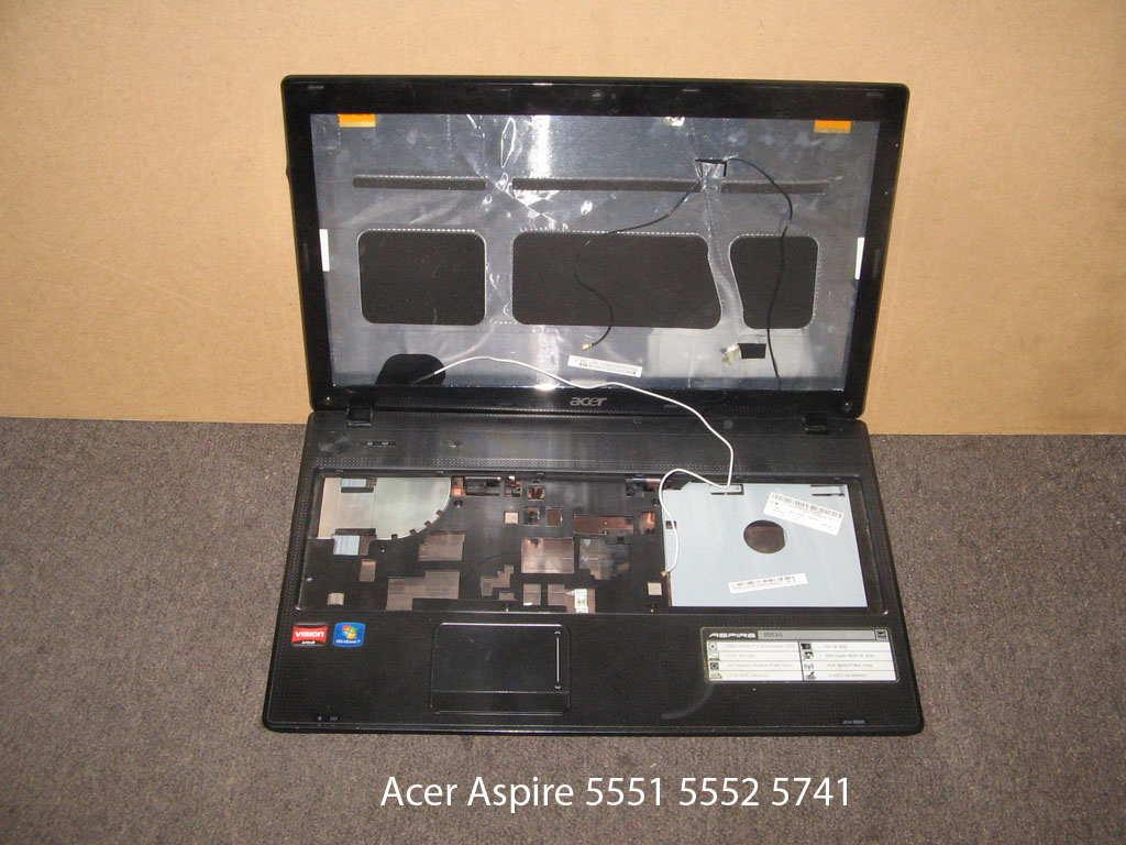 Корпус (без топ-панели)  от ноутбука Acer Aspire 5741 5551 5552. УВЕЛИЧИТЬ