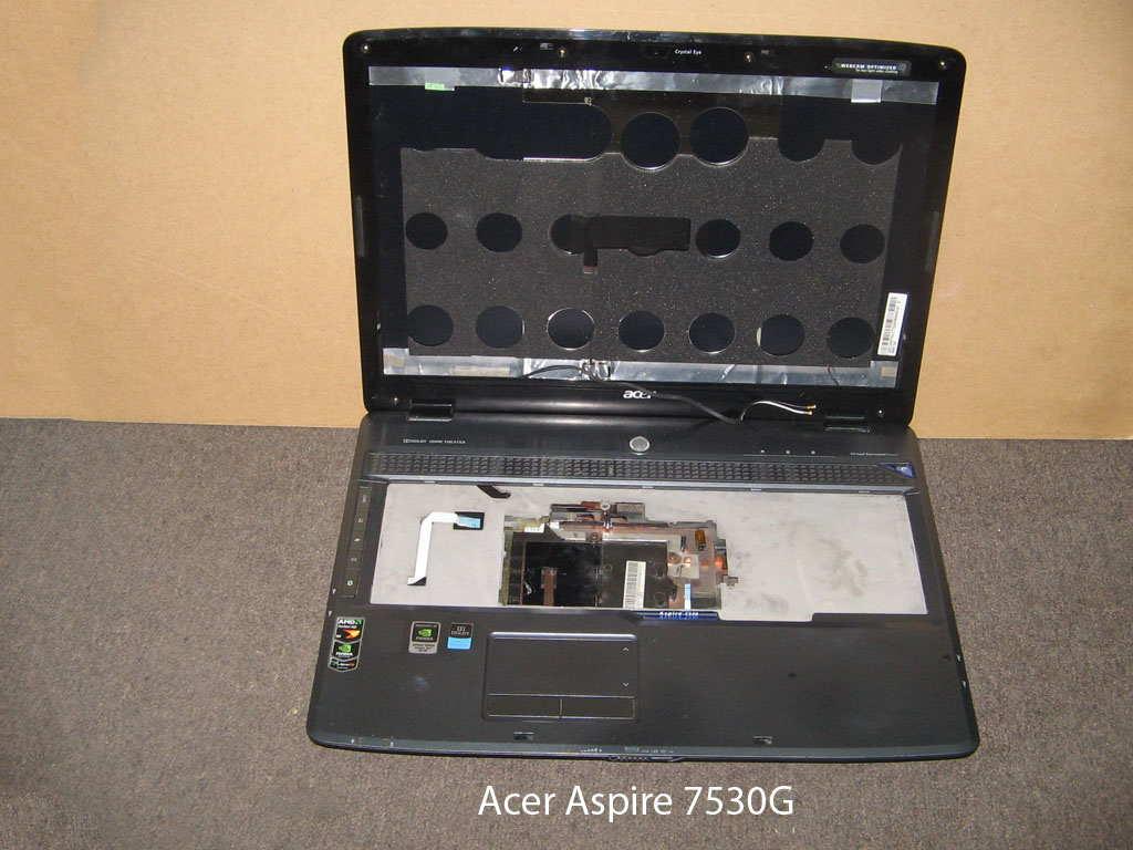 Корпус  от ноутбука Acer Aspire 7530G. УВЕЛИЧИТЬ