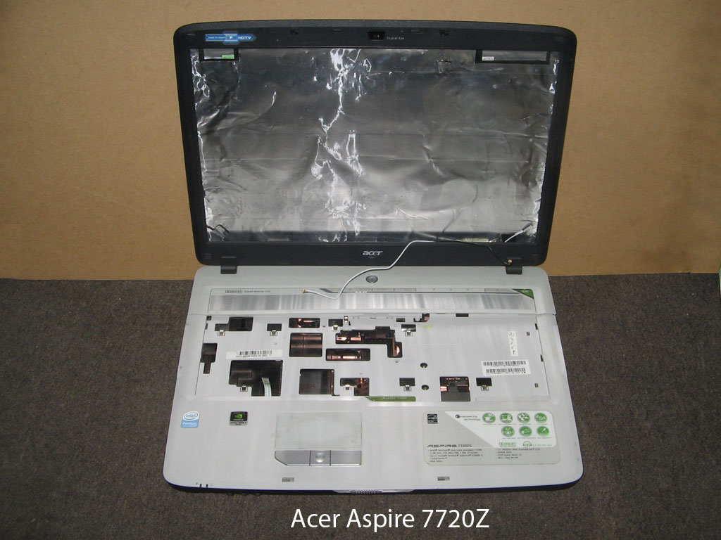 Корпус  от ноутбука Acer Aspire 7720Z. УВЕЛИЧИТЬ