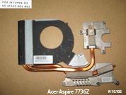 Радиатор (термотрубка) охлаждения  от ноутбука Acer Aspire 7736ZG. УВЕЛИЧИТЬ