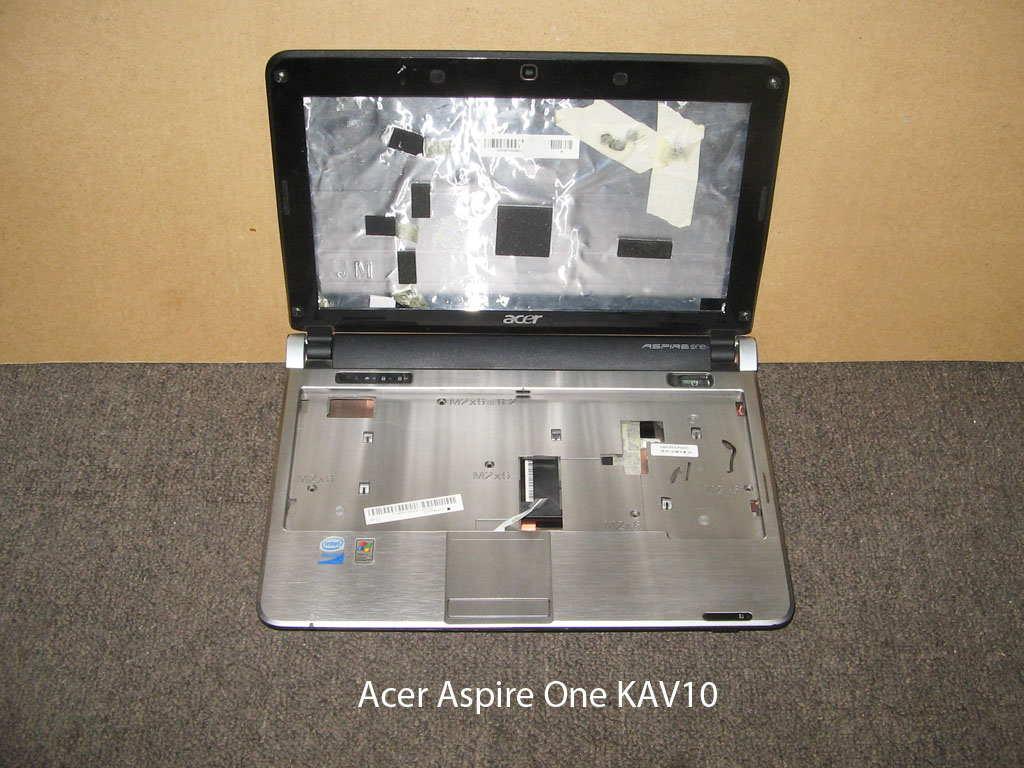 Корпус  от ноутбука Acer Aspire One KAV10. УВЕЛИЧИТЬ