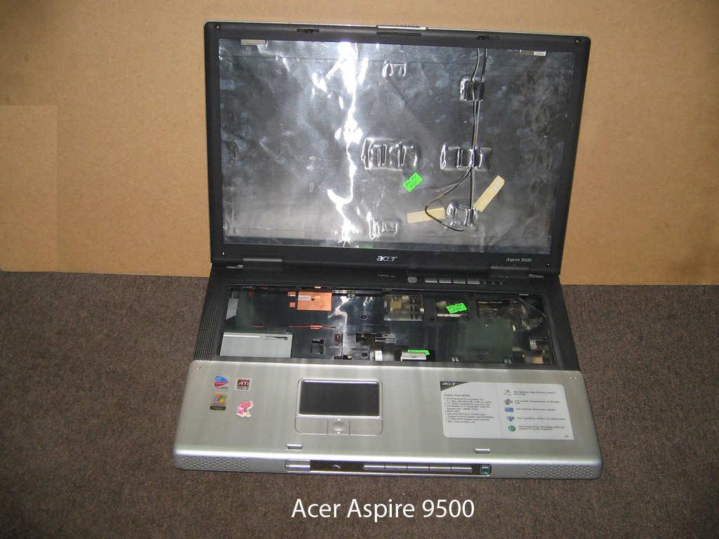 Корпус  от ноутбука Acer Aspire 9500. УВЕЛИЧИТЬ