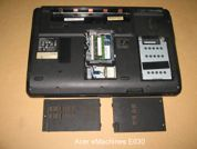 Ноутбук на запчасти  Acer-eMachines-E630. Вид снизу.УВЕЛИЧИТЬ