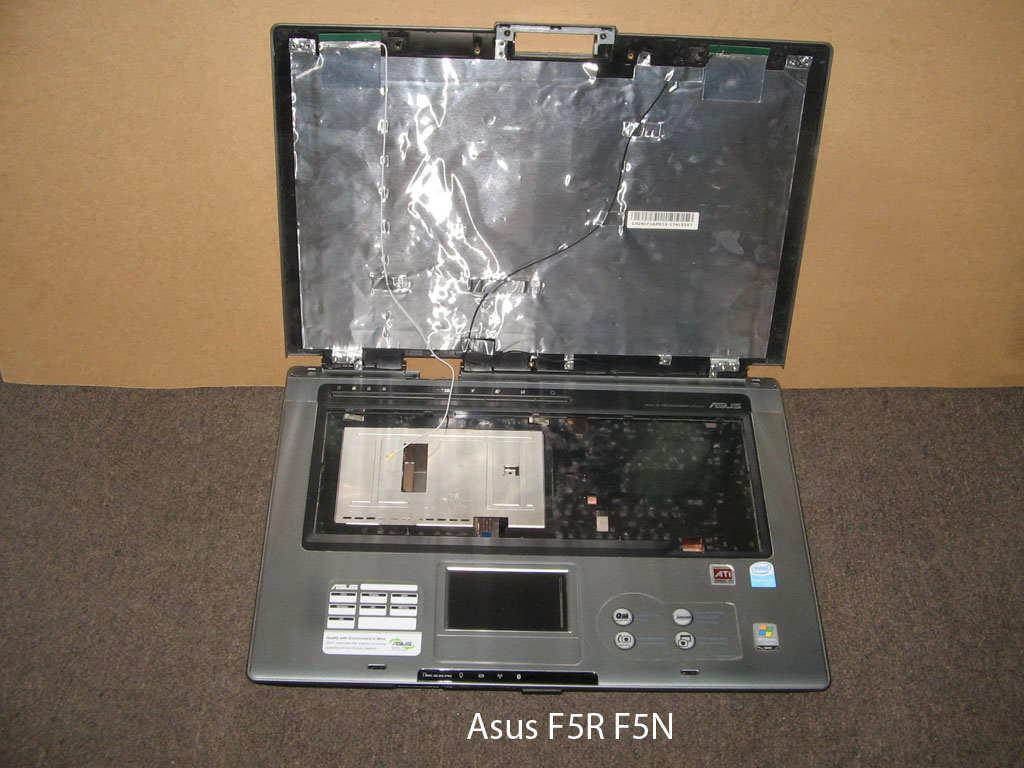 Корпус (без рамки матрицы)  от ноутбука Asus F5R F5N. УВЕЛИЧИТЬ