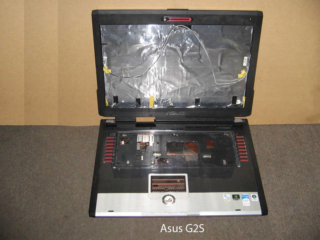 Корпус  от ноутбука Asus G2S. УВЕЛИЧИТЬ