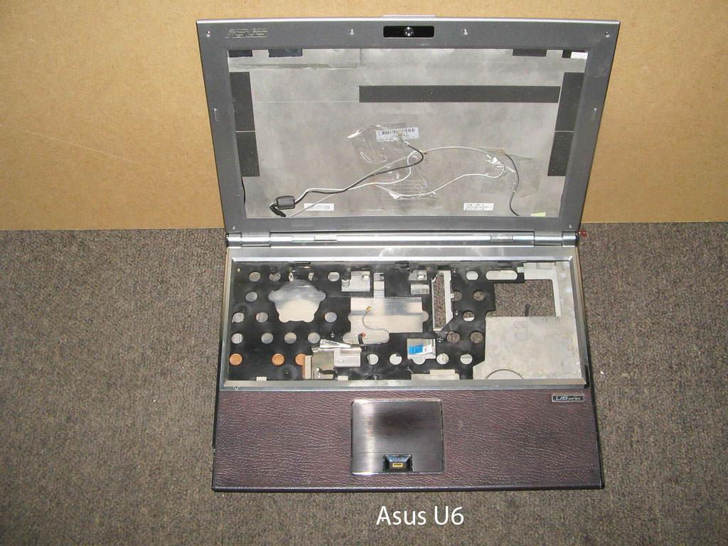 Корпус  от ноутбука Asus U6S. УВЕЛИЧИТЬ
