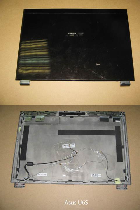 Элемент корпуса. Крышка матрицы  от ноутбука Asus U6S. УВЕЛИЧИТЬ