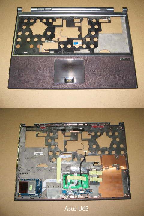 Элемент корпуса. Топ-панель (palmrest)  от ноутбука Asus U6S. УВЕЛИЧИТЬ