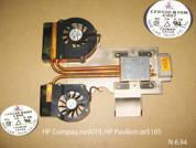 Cистема охлаждения  от ноутбука HP Compaq nx9010 HP Pavilion ze5185. УВЕЛИЧИТЬ