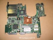 Материнская плата нерабочая  от ноутбука HP Compaq nx6110. УВЕЛИЧИТЬ