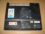 Корпус ноутбука HP-nx6110. Нижняя крышка.УВЕЛИЧИТЬ