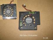 Вентилятор системы охлаждения  от ноутбука IRU Stilo 1514Combo. УВЕЛИЧИТЬ