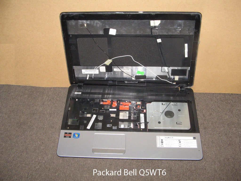 Корпус  от ноутбука Packard Bell Q5WT6. УВЕЛИЧИТЬ