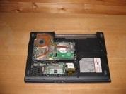 Ноутбук на запчасти  RB-Nautilus-W550VHP. Вид снизу.УВЕЛИЧИТЬ