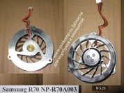 Вентилятор системы охлаждения  от ноутбука Samsung NP-R70. УВЕЛИЧИТЬ