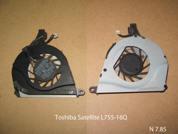 Вентилятор системы охлаждения  от ноутбука Toshiba Satellite L755-16Q. УВЕЛИЧИТЬ