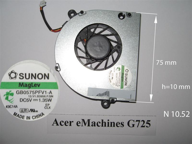 Acer eMachines G725, eMachines E625,E720, E725, Aspire 5530    № 10.52   УВЕЛИЧИТЬ