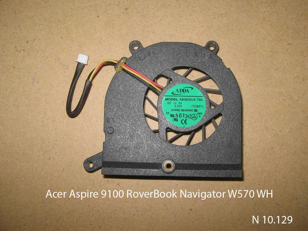 Acer Aspire 9100 RoverBook Navigator W570 WH № 10.129   УВЕЛИЧИТЬ