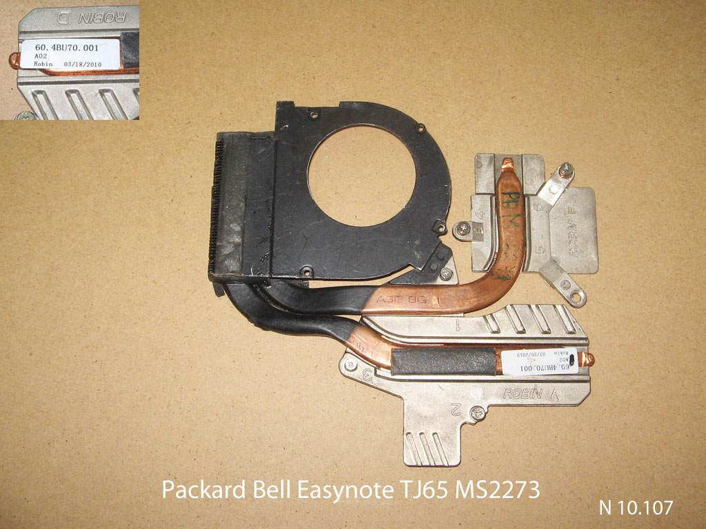 Packard Bell Easynote TJ65 MS2273 № 10.107   УВЕЛИЧИТЬ