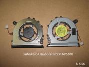 Вентилятор ноутбука SAMSUNG Ultrabook NP530 NP530U. УВЕЛИЧИТЬ