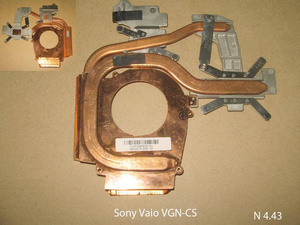 Sony VGN-CS № 4.43   УВЕЛИЧИТЬ