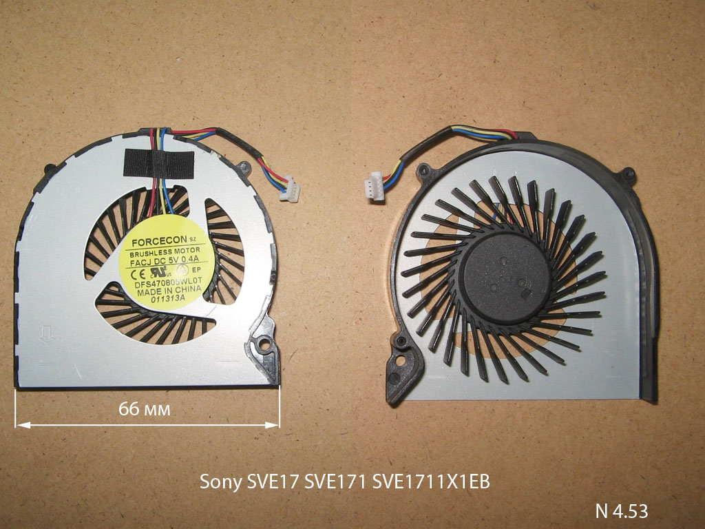 Sony SVE17 SVE171 SVE1711X1EB  № 4.53   УВЕЛИЧИТЬ