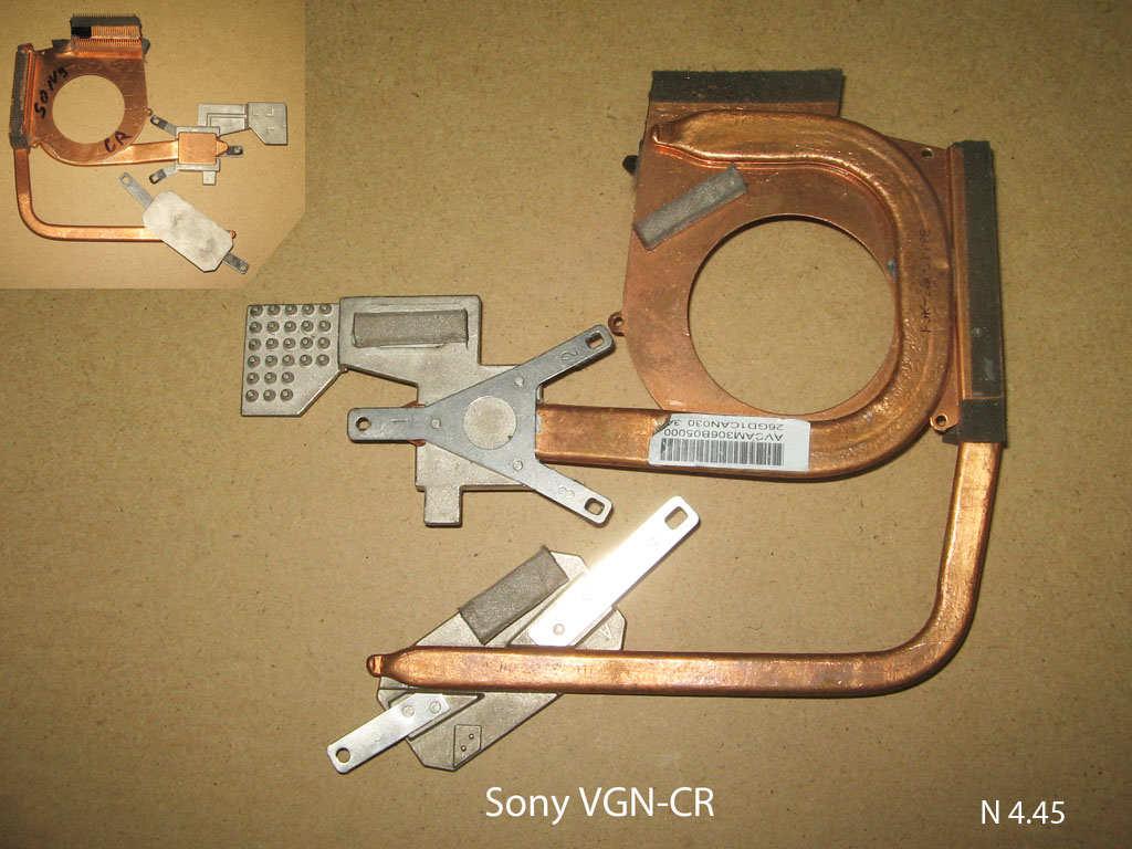 Sony VGN-CR № 4.45   УВЕЛИЧИТЬ