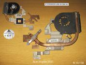 Система охлаждения  от ноутбука Acer Aspire 5551. УВЕЛИЧИТЬ