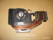 Система охлаждения  от ноутбука Acer TM3200 3201 3202. УВЕЛИЧИТЬ