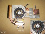 Система охлаждения  от ноутбука Asus A8J. УВЕЛИЧИТЬ
