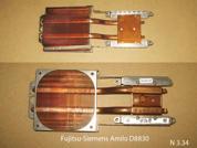 Радиатор (термотрубка)  от ноутбука Fujitsu-Siemens Amilo D8830. УВЕЛИЧИТЬ