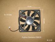 Вентилятор  от ноутбука Fujitsu-Siemens Amilo D8830. УВЕЛИЧИТЬ