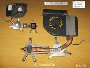 Система охлаждения  от ноутбука HP Compaq CQ61. УВЕЛИЧИТЬ