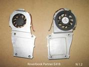 Система охлаждения  от ноутбука Roverbook Partner E418. УВЕЛИЧИТЬ