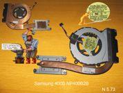 Система охлаждения  от ноутбука Samsung 400B NP400B2B. УВЕЛИЧИТЬ